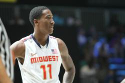 Rondae Jefferson was a member of the USA Midwest team that won the Nike Global Challenge held at the DC Armory this summer.