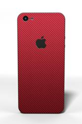 iPhone 5 Carbon Fiber Red