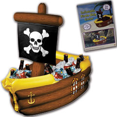 Pirate Ship Cooler from Windy City Novelties