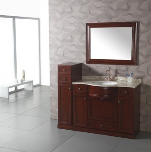 Cherry Wood Contemporary Vanity WA3003 By Legion Furniture ...