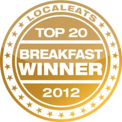 LocalEats Best Breakfast Winner Badge