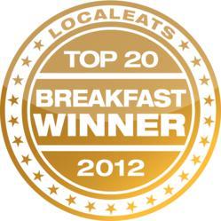 LocalEats Best Breakfast Winner Badge