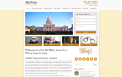 Personal Injury Law Firm, the McMinn Law Firm's new website.
