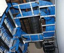 Clean Network Cabling installation from structuredcabling.com