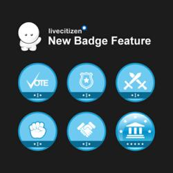 LiveCitizen Badges Feature