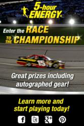 5-hour ENERGY® Race to the Championship Contest