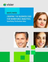 Download Visier's latest white paper - Creating the Business Case for Workforce Analytics: Quantifying the Business Value.