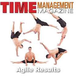 Image of an Agile Athlete using Agile Results Article in Time Management Magazine