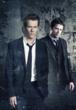 Kevin Bacon (left) and James Purefoy star in THE FOLLOWING, airing Mondays in midseason on FOX. (Photo Credit: © 2012 Warner Bros. Entertainment Inc. All Rights Reserved.)