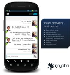 An overview of the ArmorText secure mobile messaging platform from Gryphn