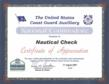 Award Presented to NauticalCheck at the USCGA Annual Convention