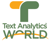 Text Analytics World - San Francisco, April 17-19