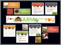 Farm to School Resources from Learning ZoneXpress: Bulletin Board Kit