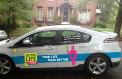 Green house cleaning franchise Better Life Maids is adding the Chevy Volt to its fleet of green house cleaning vehicles