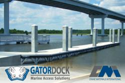GatorDock offers dock, pier, gangway and marina systems.