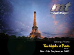 MotorTorque unveil their 48-hour live content marathon for the 2012 Paris Motor Show.