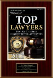 J. Chip Seigel Top Lawyers Award