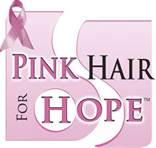 Pink Hair for Hope offered at Brillare Hairdressing Academy