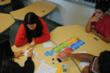 Sagemont students engage in a game created by their classmates.