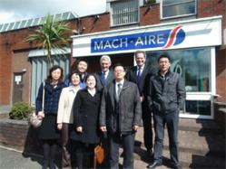 Mach-Aire is a growing export organisation headquartered in Bolton.