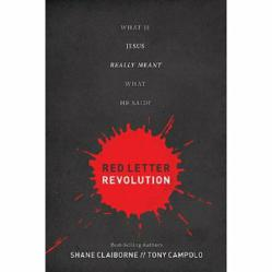 Tony Campolo and Shane Claiborne Book, Red Letter Revolution