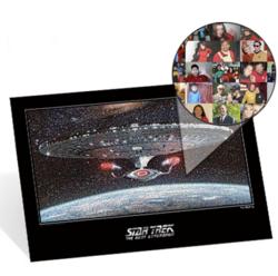 The Star Trek TNG 25th Anniversary Fan Mosaic