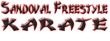 Logo for Sandoval Freestyle Karate