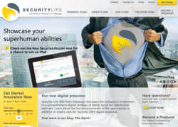 Security Life Website