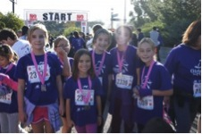 Girls on the Run thanks NMP.org