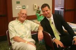 George Ross with JT Foxx