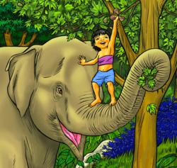 Mubu's adventures are based on Elephant Whisperer, Lek Chailert's childhood.