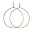 New Sparkle Always Beautiful Earrings: Hoop