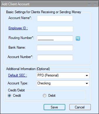 how to set up direct deposit for small business