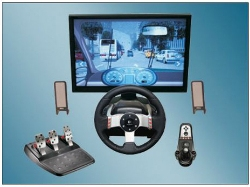 Cantor's Driving School's Driving Simulator