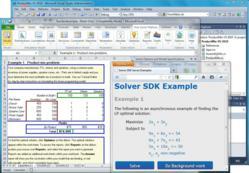 Solver SDK Platform enables optimization and simulation on desktops, servers or in the cloud.