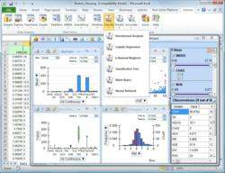XLMiner V4.0 Features Data Visualization and PowerPivot Support