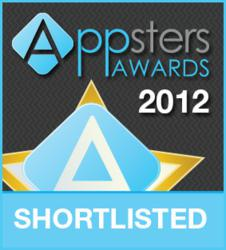 Appster Awards 2012 Shortlisted