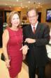 Mrs. Hilda Cabrera, McDonald's Franchisee with Mark Levinson