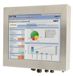 "NEMA 4X Workstation with 19"" LCD and Resistive Touchscreen"