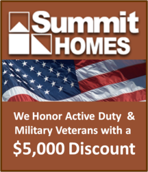Summit Homes Military Discount