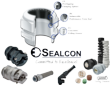 Sealcon's Line of Liquid Tight Strain Relief Fittings