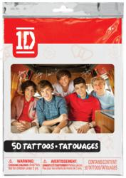 1D temporary tattoos from Savvi