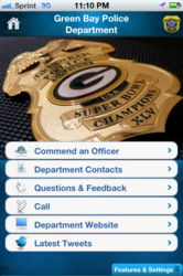 MyPD Green Bay Police iPhone App