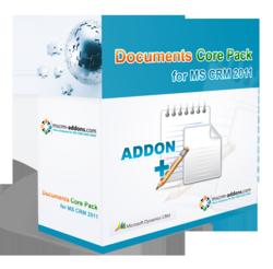 DocumentsCorePack for Microsoft Dynamics CRM 2011