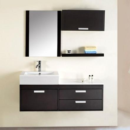 alicia 51 inch wall mounted bathroom vanity from virtu