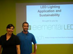Reach and Elemental LED Host an Energy Conservation Workshop