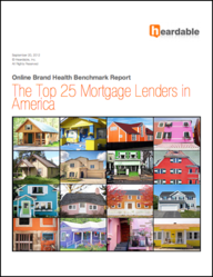Top 25 Mortgage Lenders in America - Heardable report