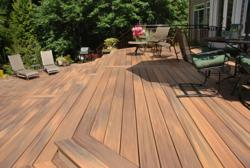 Fiberon Horizon Decking in Ipe