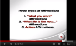 Natalie Ledwell reveals Law of Attraction secrets to writing the 3 most effective types of affirmations for your digital vision board