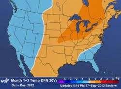 WSI US Weather Outlook Oct-Dec 2012